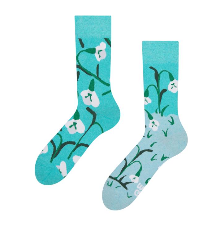 Veselé eko ponožky Snežienky