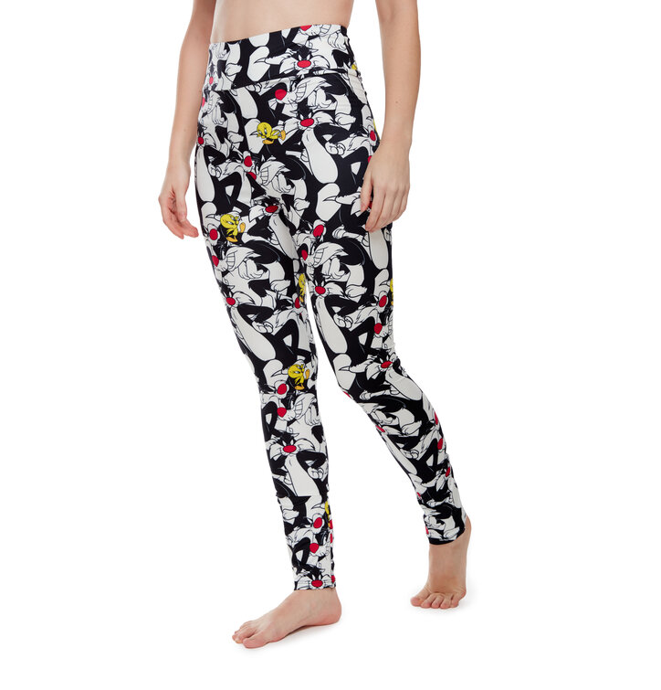Looney Tunes ™ High Waisted Leggings Sylvester and Tweety