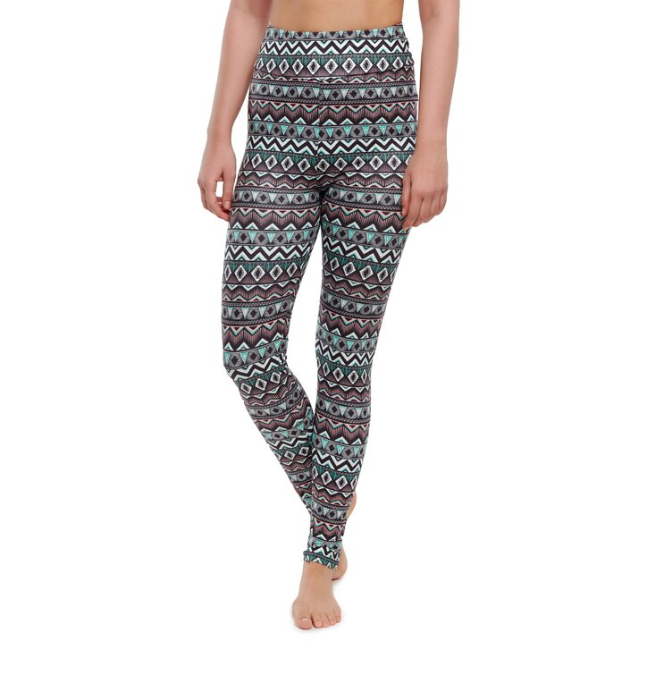 Vrolijke high-waisted leggings Ornament