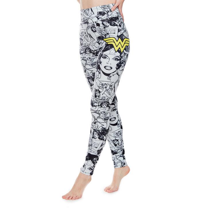 Vrolijke leggings Wonder Woman ™ Schets