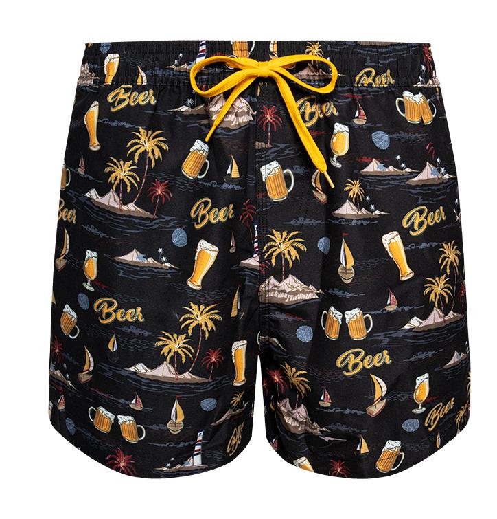 Swim Shorts Beach Beer