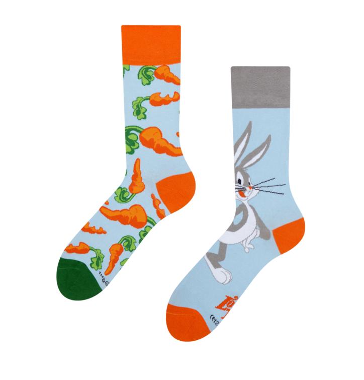 Veselé ponožky Bugs Bunny ™ Mrkva