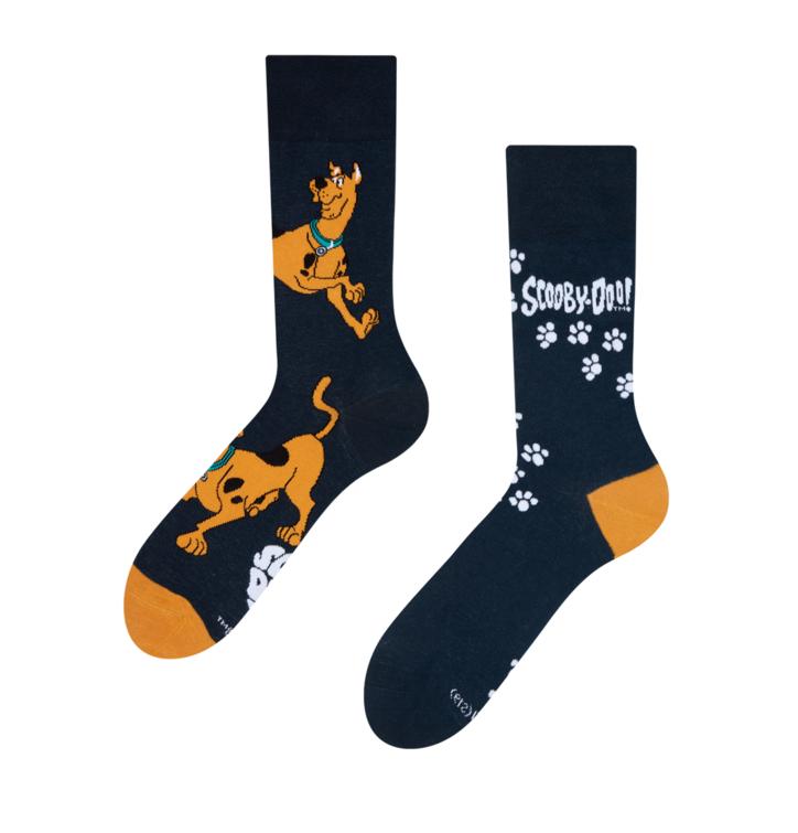 Veselé ponožky Scooby Doo ™ Stopy