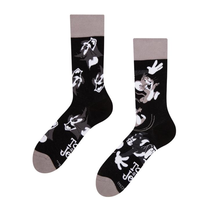 Vesele čarape Tom a Jerry ™ Jurnjava