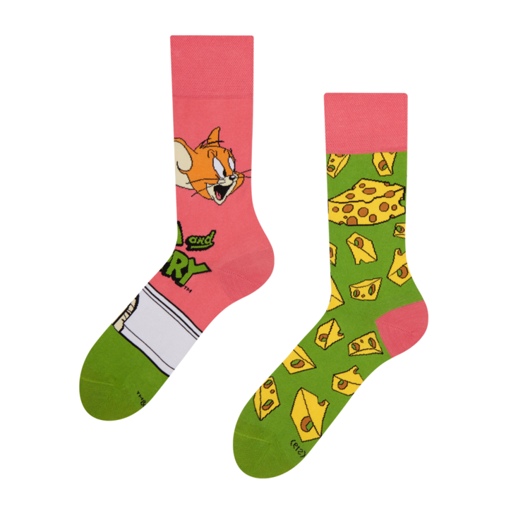 Tom and Jerry ™ Regular Socks Cheese