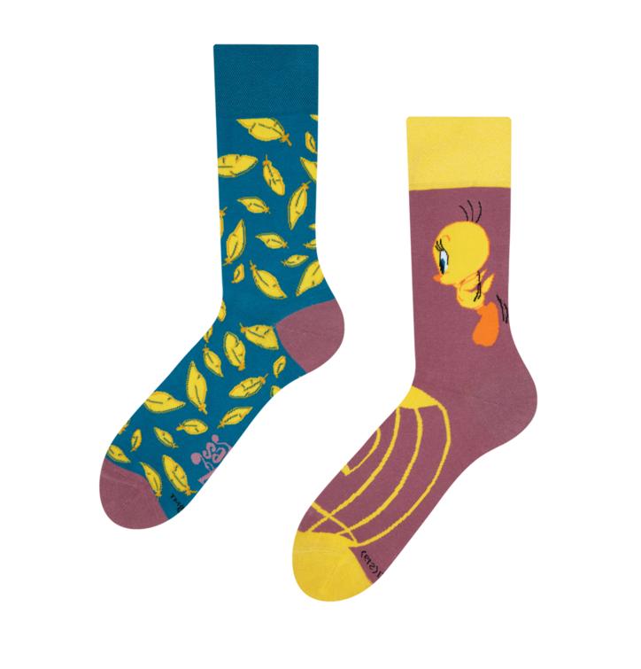 Lustige Socken Tweety ™ Feder