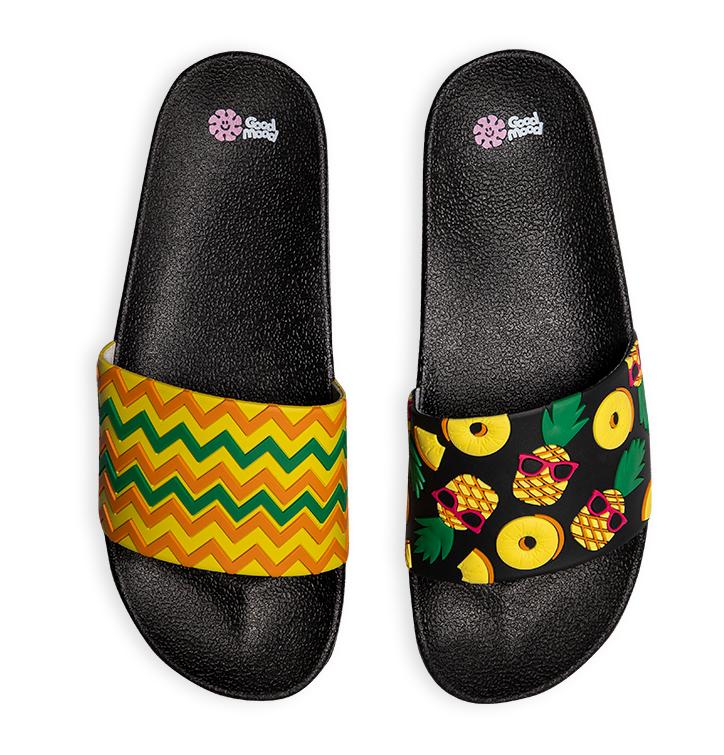 Sandales rigolotes Ananas