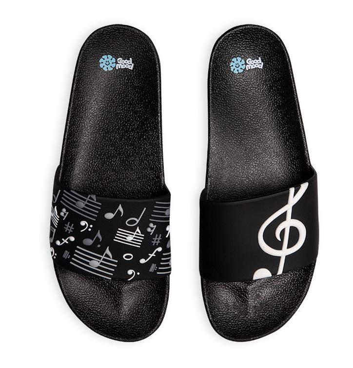 Sandales rigolotes Musique