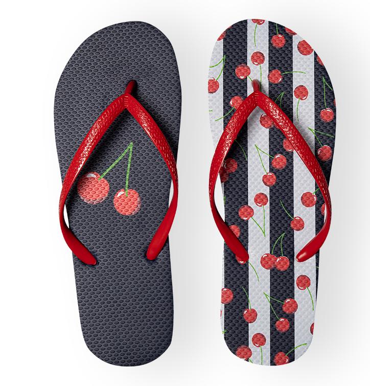 Flip Flops Cherries