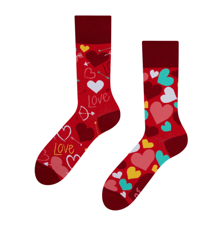 Good Mood Regular Socks Hearts