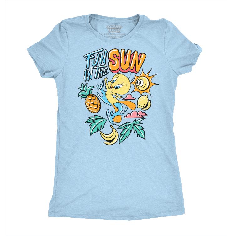 Women's T-Shirt Looney Tunes™ Funny Tweety