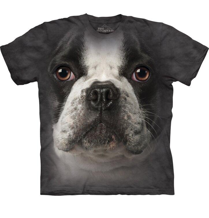 T-Shirt Französischer Bulldog Gesicht