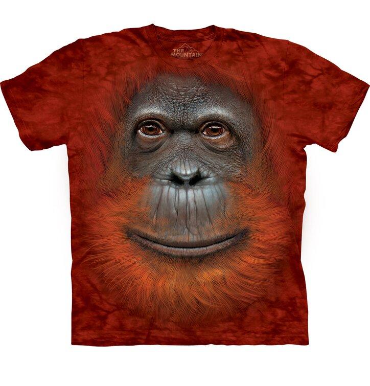 Tričko Obličej orangutana