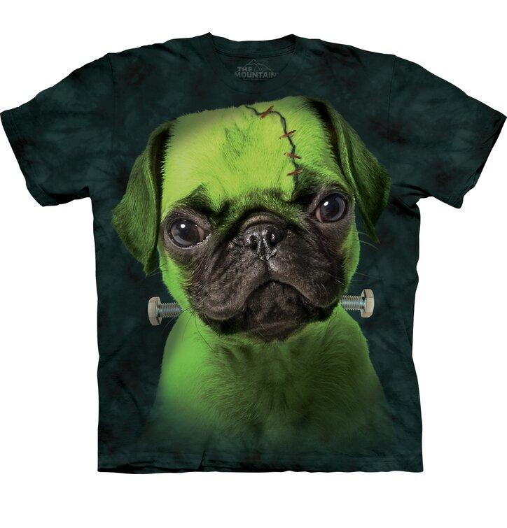 Tričko Mopslík Frankenstein