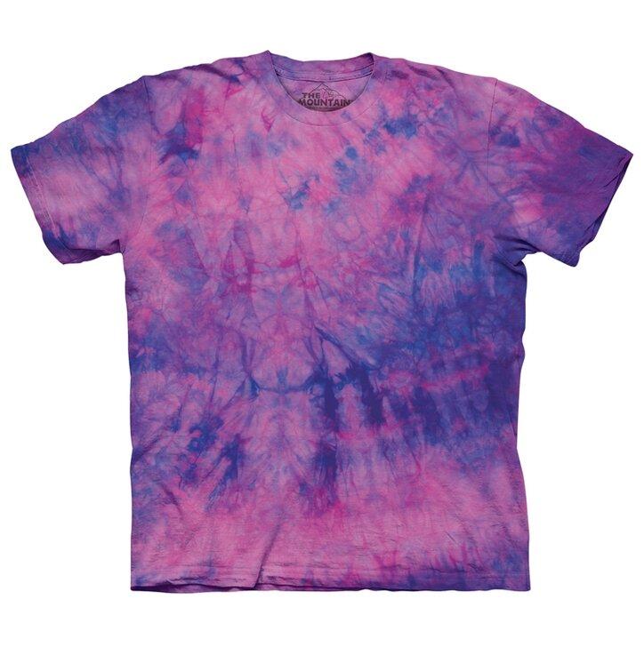 Tričko s bonbónovými barvami