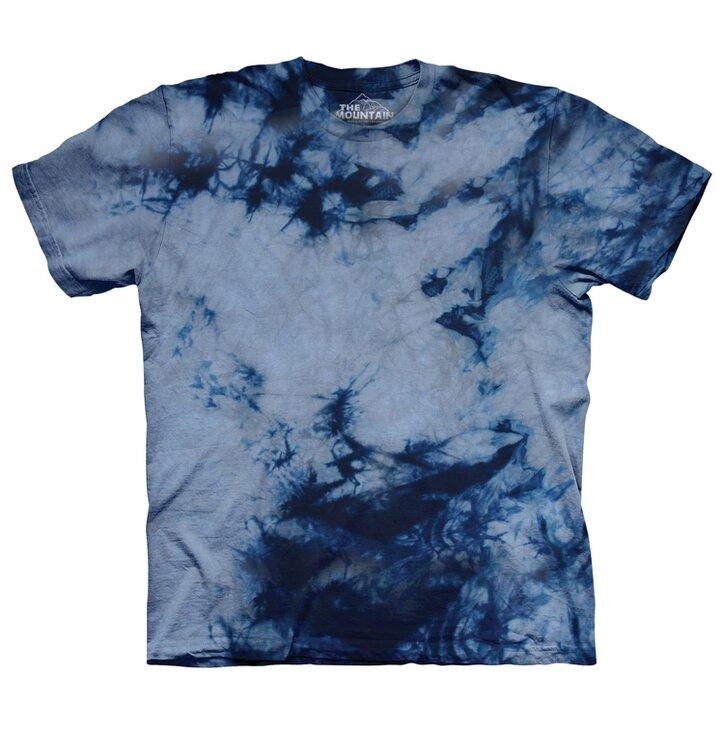 Šedo-modré tričko