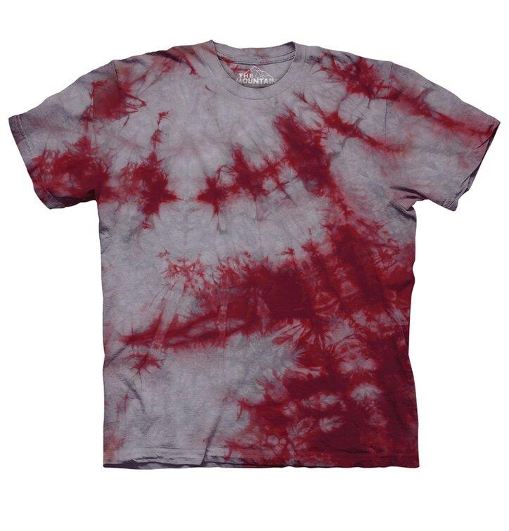 Grey Crimson Bi Dye