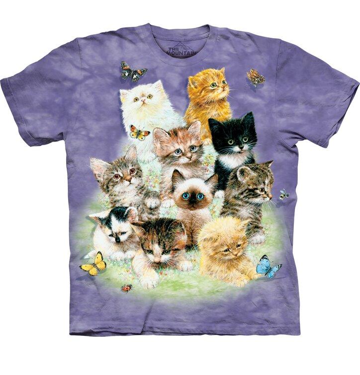 Tričko 10 hravých mačiatok