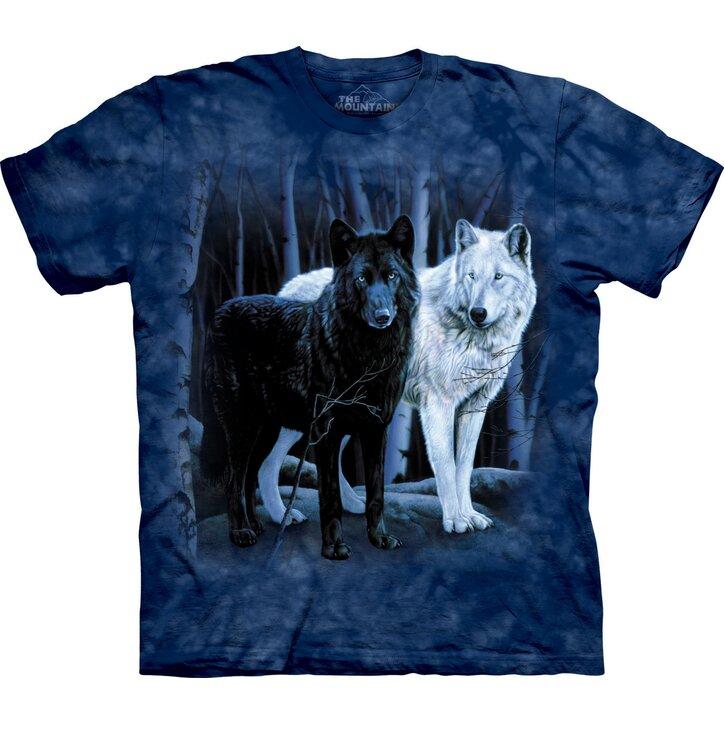 Tričko Bílý & Černý vlk