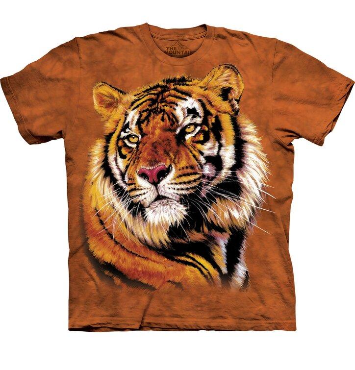 T-Shirt Kraft und Charme des Tigers
