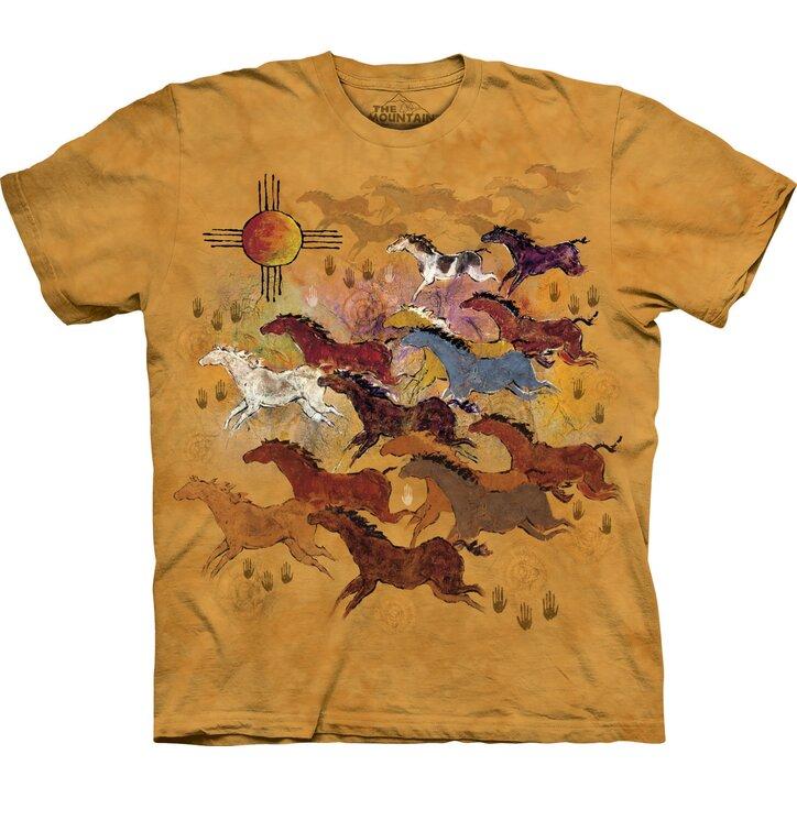 Tričko Koně a slunce