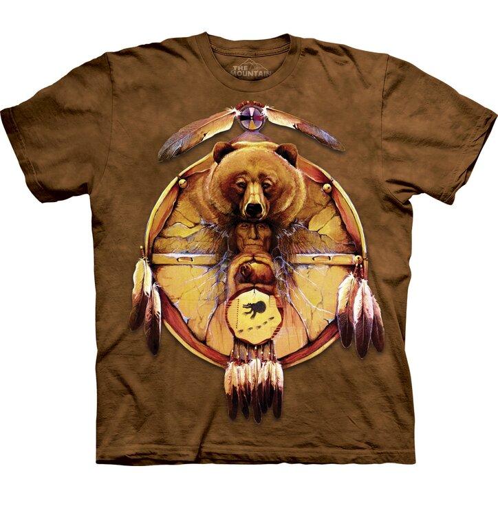 Tričko Medvěd a indián