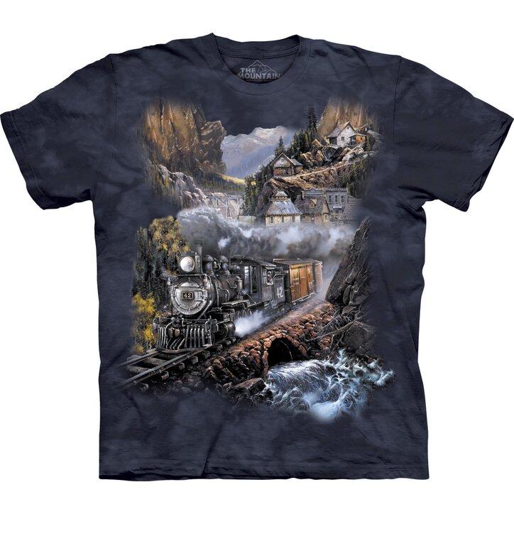 Tričko Vlak Silver Belle