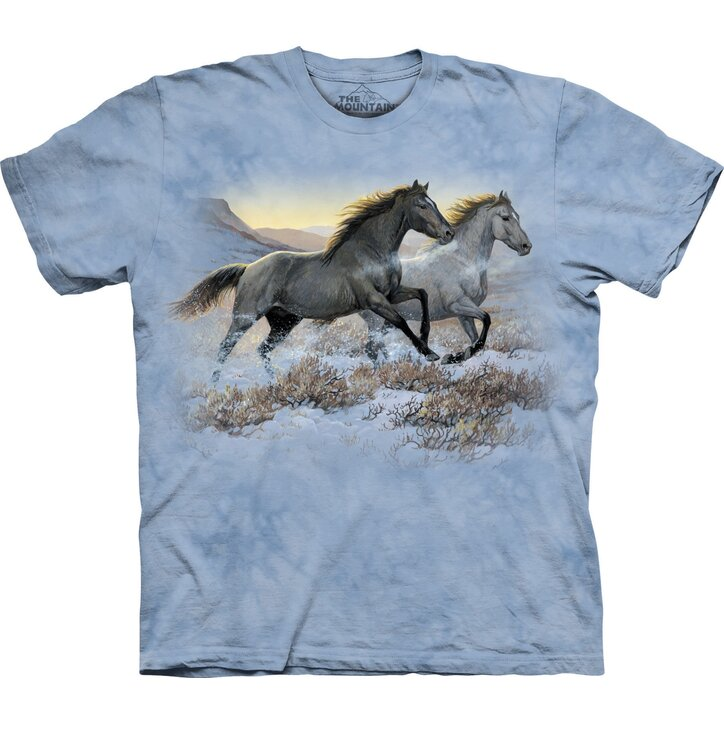 Tričko Slobodné kone