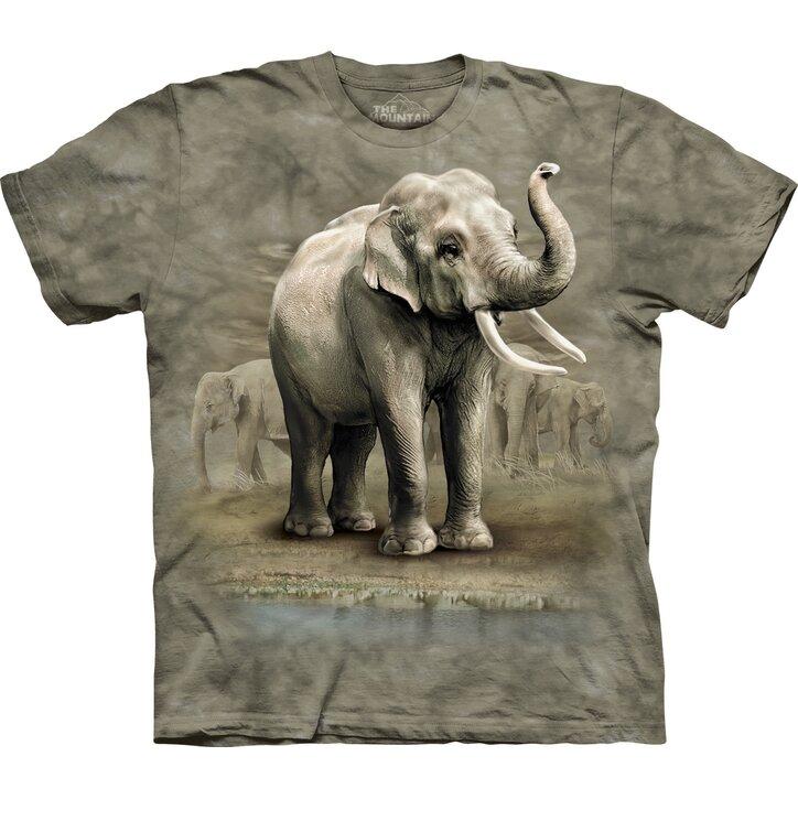 T-Shirt Asiatische Elefanten