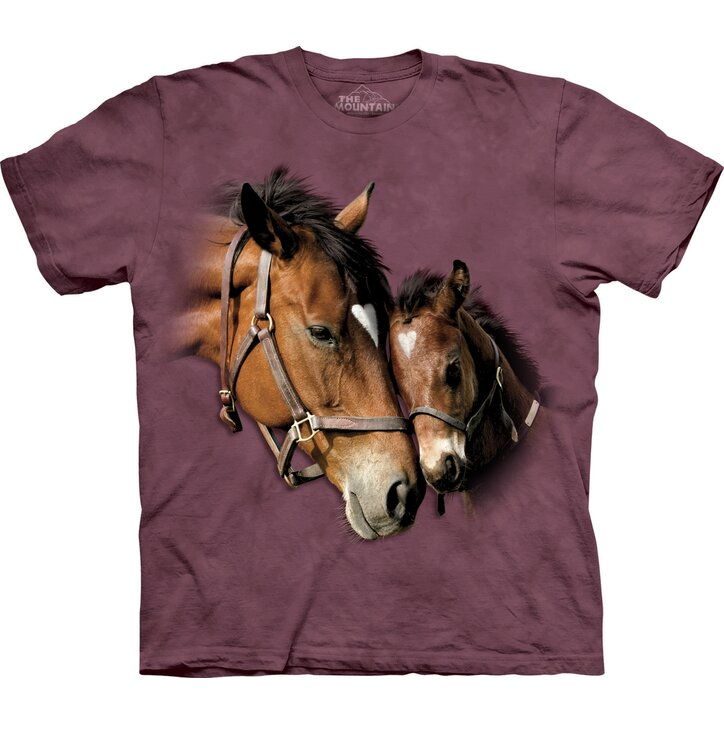 T-Shirt Liebevolle Pferde