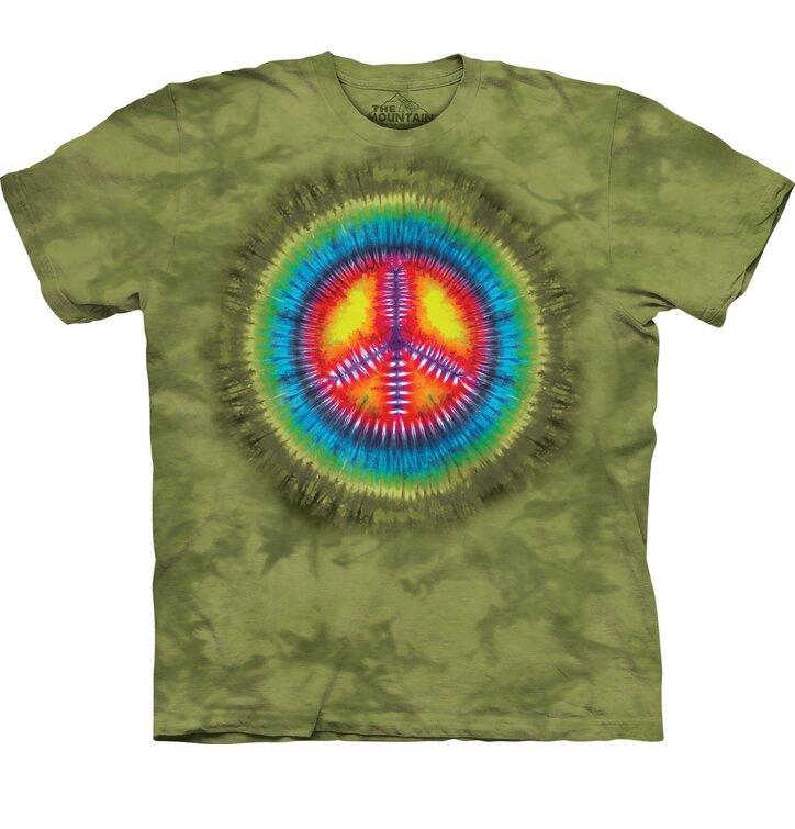 Tričko Tie-Dye mír