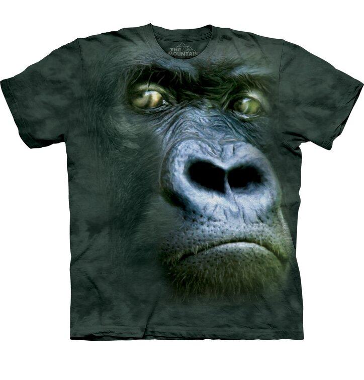 T-Shirt Gorilla-Porträt
