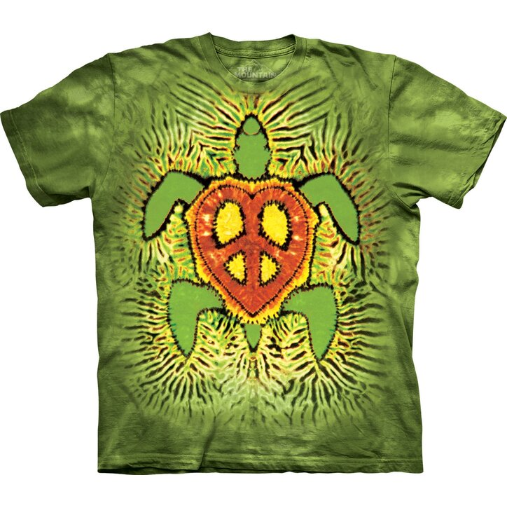 T-Shirt Rasta Peace Turtle
