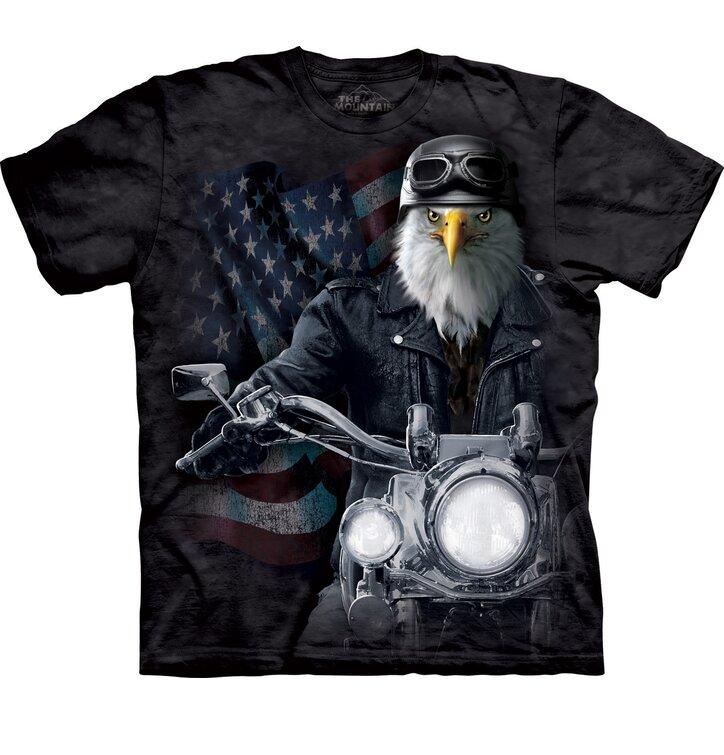 T-Shirt Vogel Radfahrer
