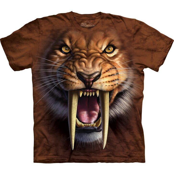 Tričko Šavlozubý tygr