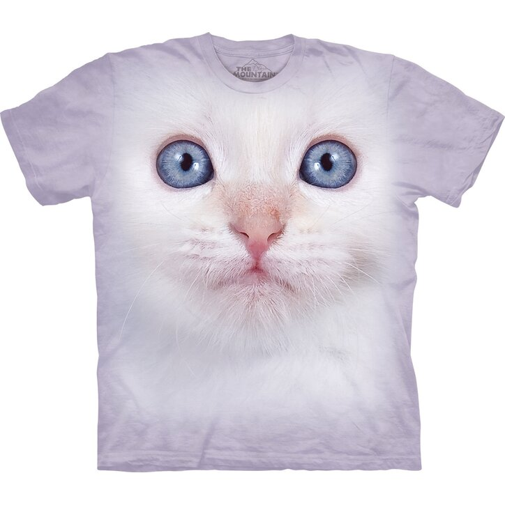 T-Shirt Weißes Baby Kätzchen