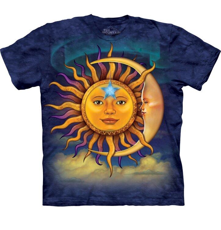 T-Shirt Sonne und Mond
