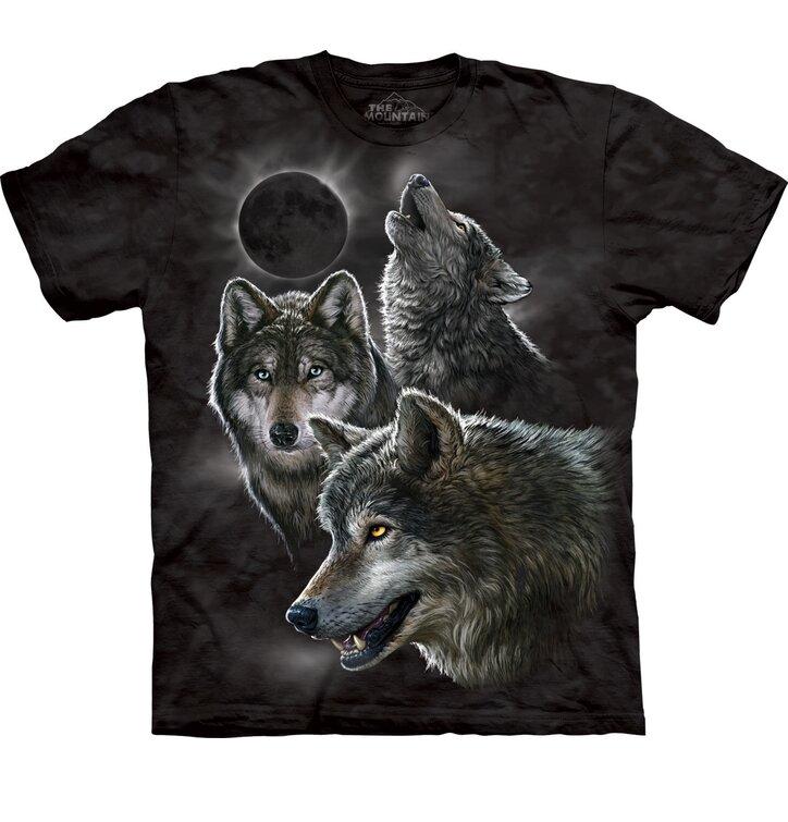 Tričko Vlky a zatmenie Mesiaca