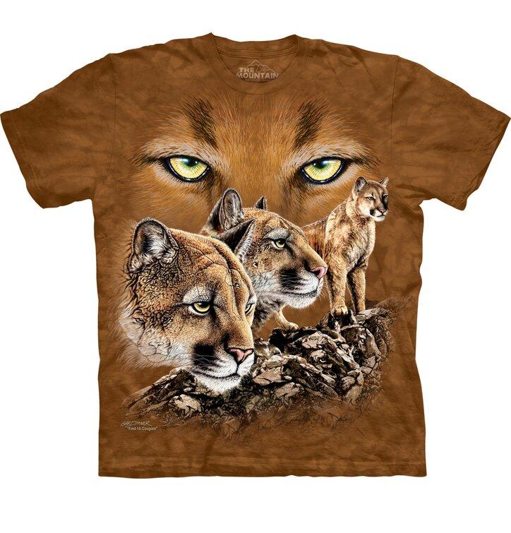 Találd meg a 10 pumát póló