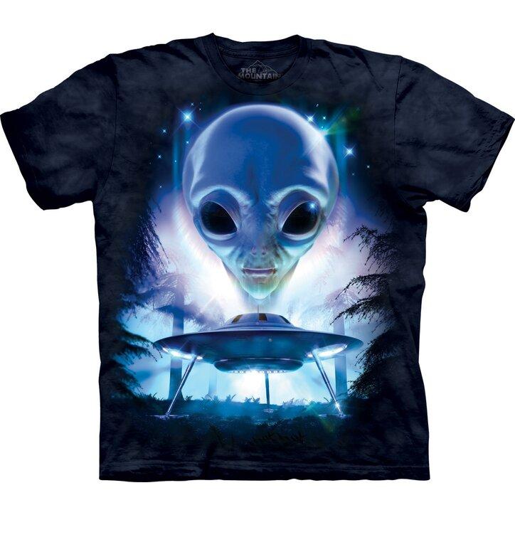 T-Shirt Nur zu Besuch