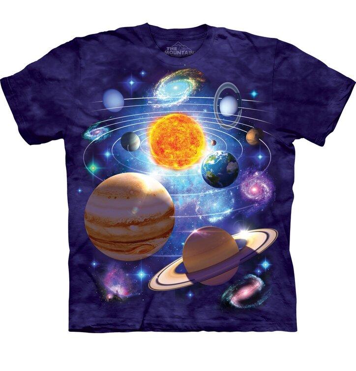 Tričko Sluneční soustava 2