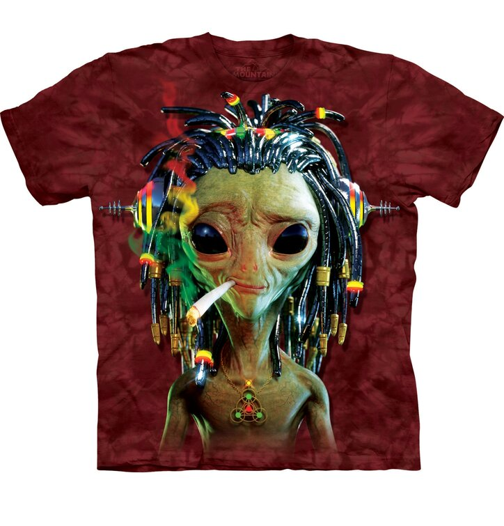 T-Shirt Rasta Alien