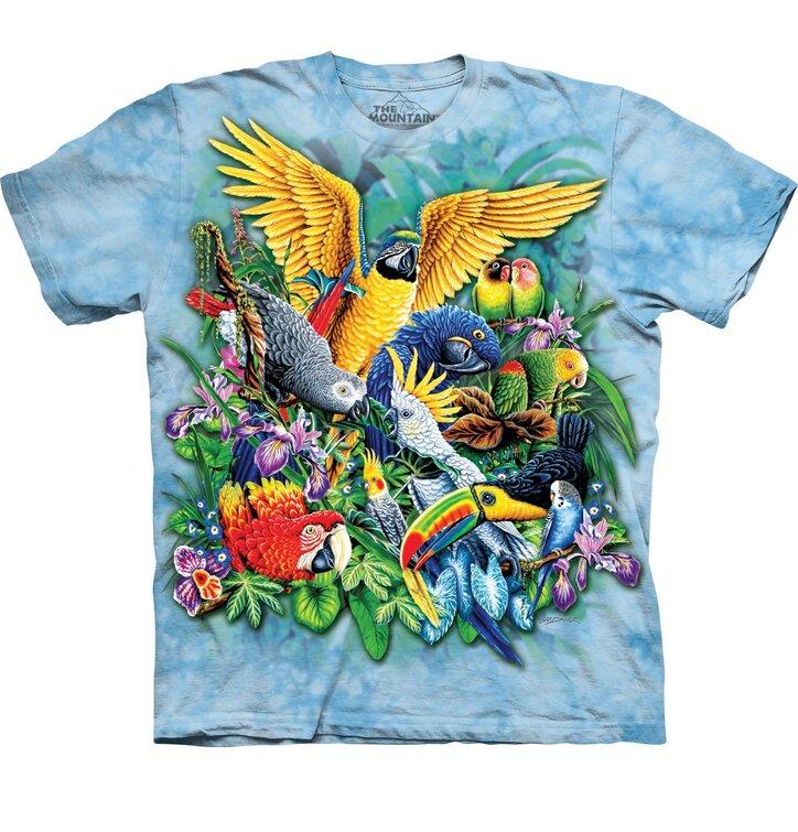 Tričko Vtáky z trópov