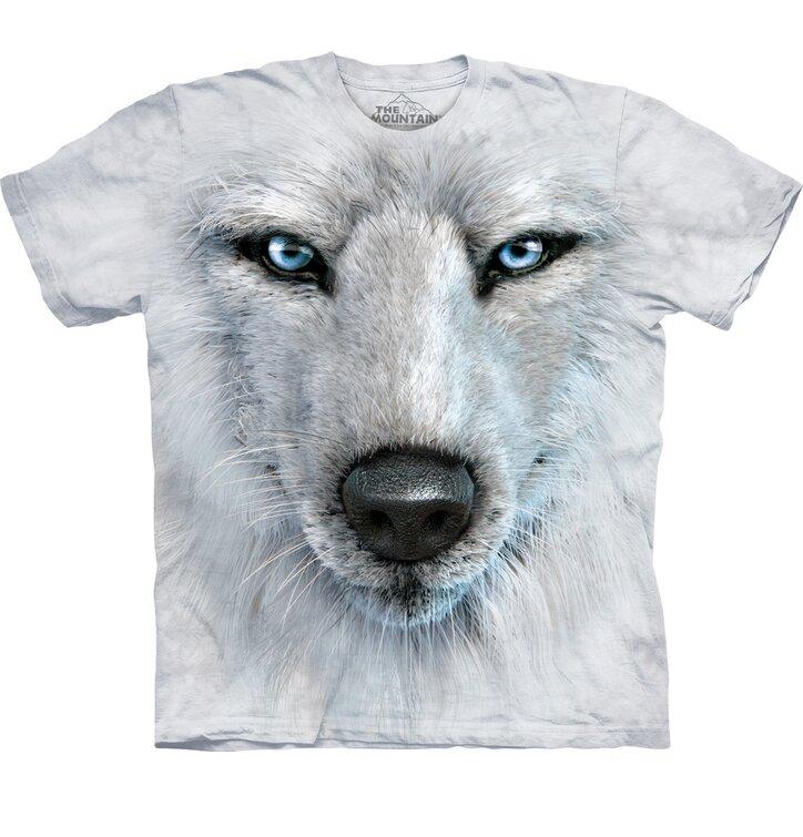 Tričko Obličej sibiřského vlka