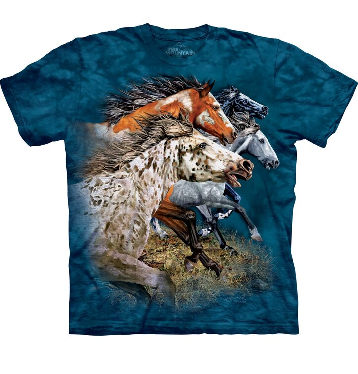 T-Shirt Finde 13 Pferde