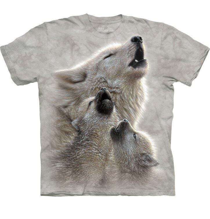 Tričko Zpěv vlků