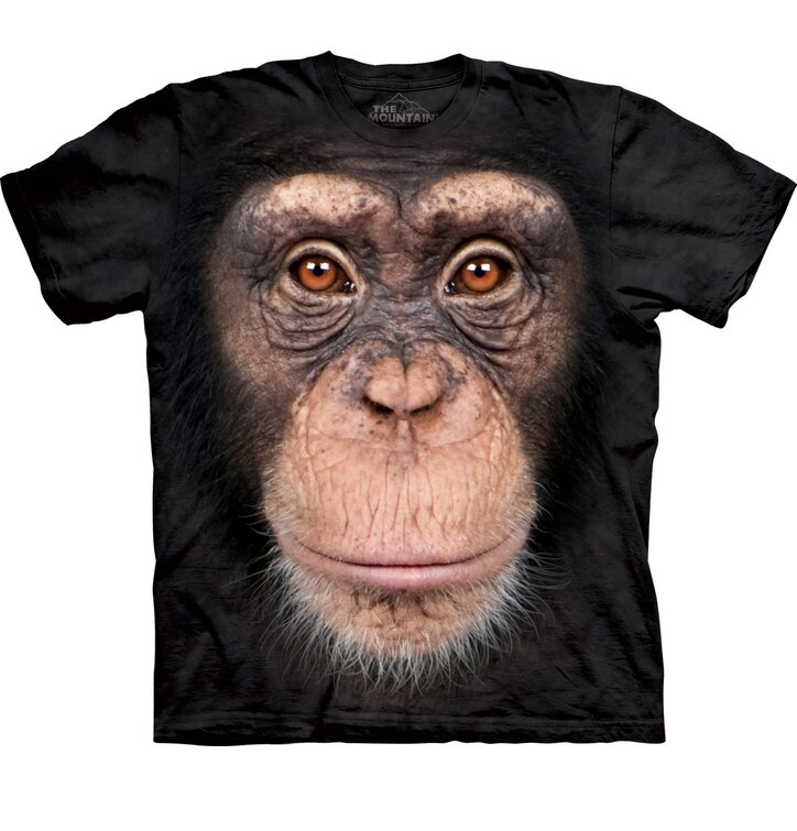 T-shirt Monkey's Face