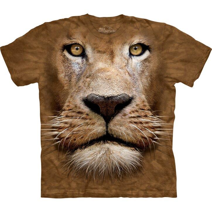 Tričko Obličej lva