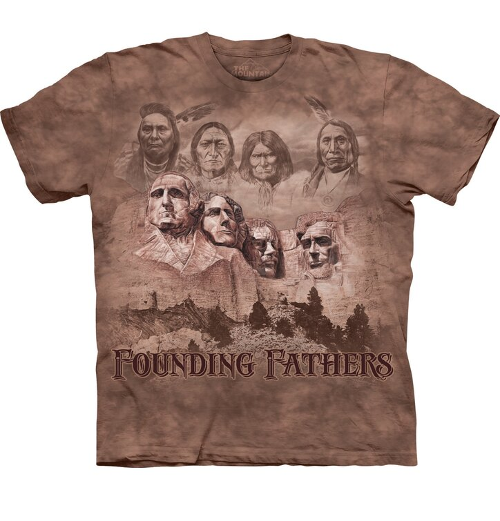 T-shirt Founding Fathers of USA