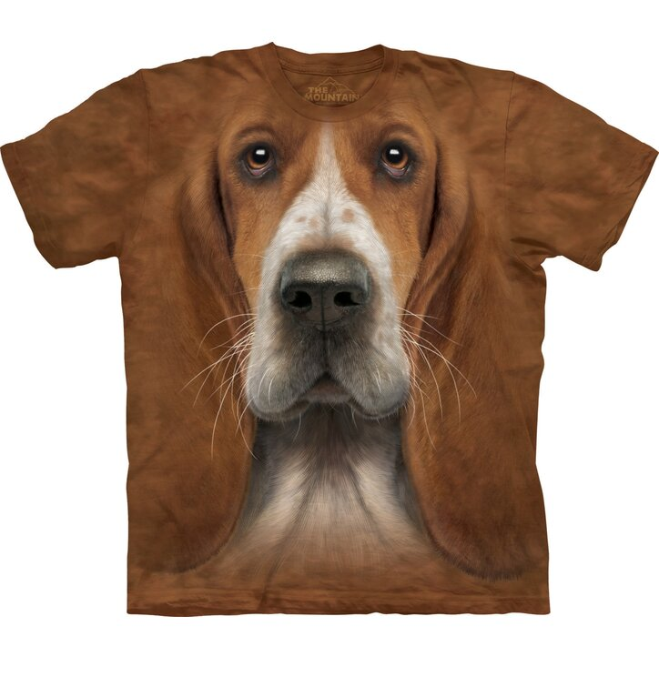 Bassett Hound Dog Head Adult